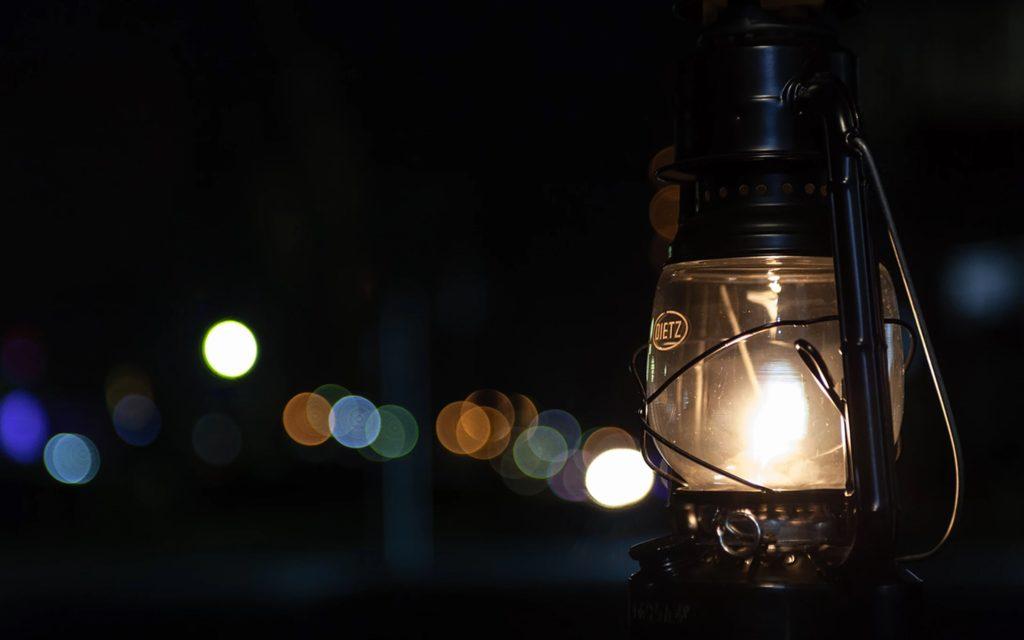 イメージ:ランプの夜